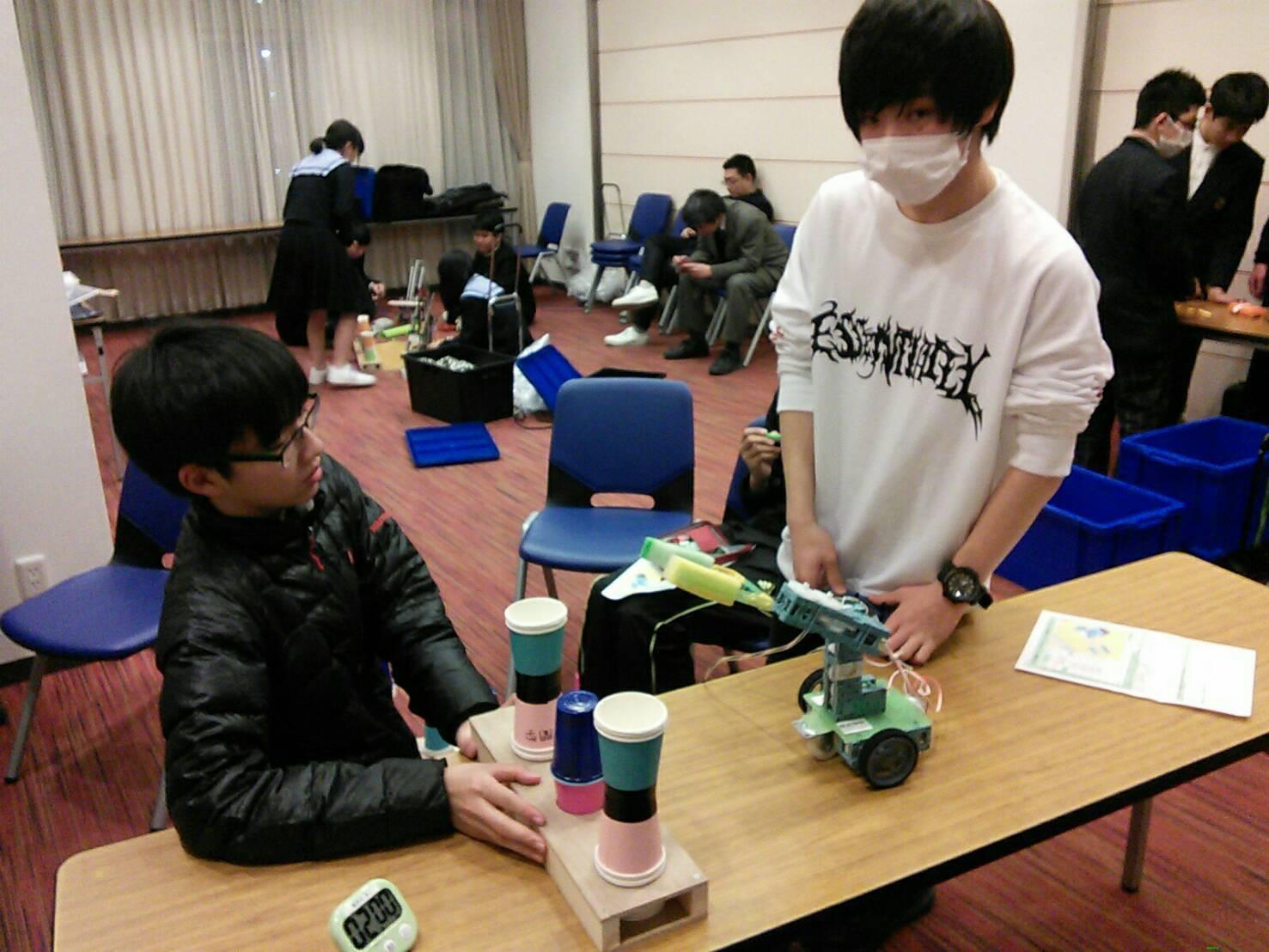 創造アイデアロボットコンテスト全国中学生大会